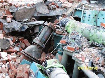 中科院力学所实验室遭强拆 警方介入未能阻止(组图)