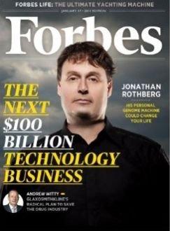 图为2010年12月底出版的美国《福布斯》杂志封面
