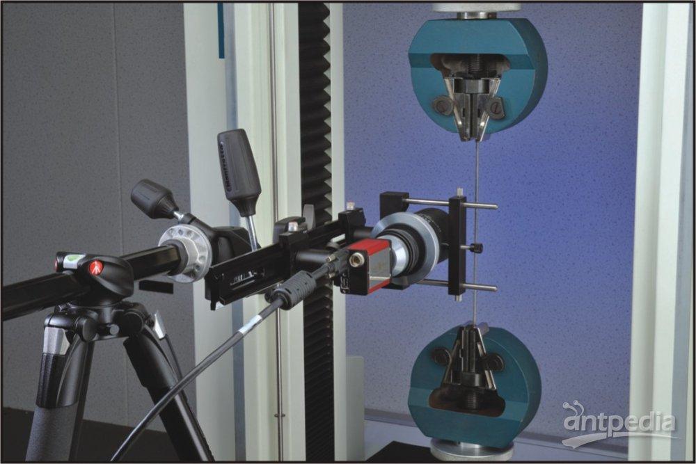 LESC型视频引伸计测量细钢线试样