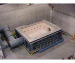 水平耐火構建試驗爐