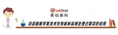 专题 莱伯泰科全自动萃取技术在有机样品前处理过程中的应用